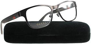 Gucci GG 0013O Metal Square Eyeglasses 55mm