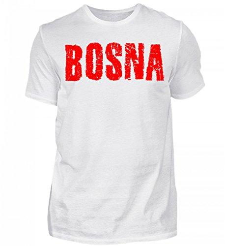 Hochwertiges Herren Shirt - Bosnien Bosna Sport Fußball Fan Design