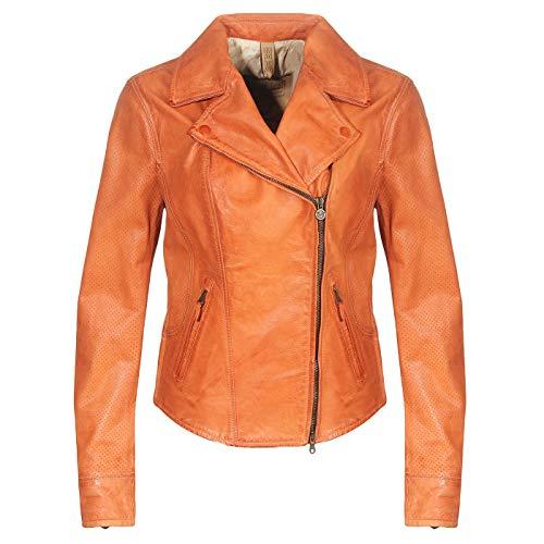 Matchless Damen Leder Jacke SOHO Blouson Vent Burnt Orange 123112 ((42) S)