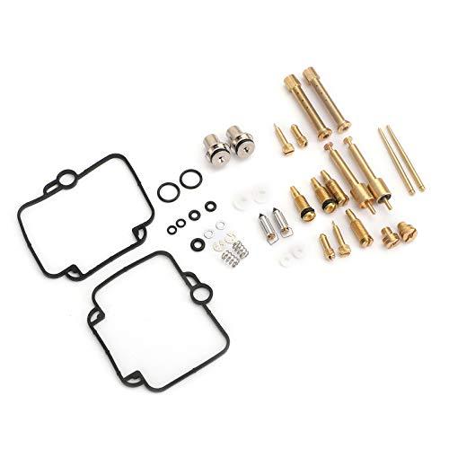 Topteng 2X Vergaser Vergaser Reparatur für Miku-NI BST 33 für B-M-W F650 für SUZU-KI GS500E