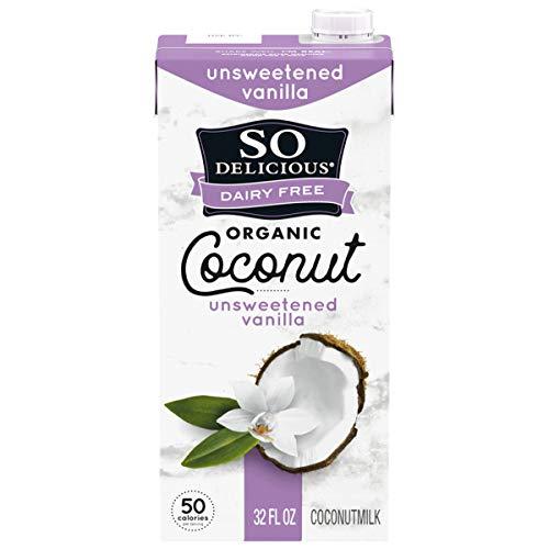 So Delicious Dairy Free Shelf-Stable Coconutmilk, Unsweetened, Vanilla, Vegan