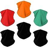 Toes Home 6PCS Outdoor Magic Headband Elastic Seamless Bandana Scarf UV Resistence Sport Headwear Boho Series for Yoga Hiking Riding Motorcycling