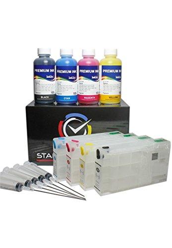 Cartucce d'inchiostro compatibili per Epson 78 / 78XL + 400ml ink E0013, stampante WorkForce Pro WF - 5620 DWF/WF - 5620 DWF/WF - 5110 DW/WF - 5690 DWF/WF - 5190 DW