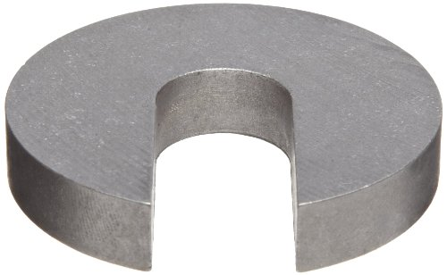 18-8 Stainless Steel Slotted Washer, Plain Finish, 5/16