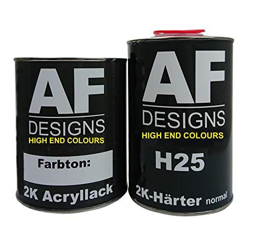 Alex Flittner Designs 2,0 Liter 2K Acryl Lack Autolack Set für BMW Alpinweiss 167