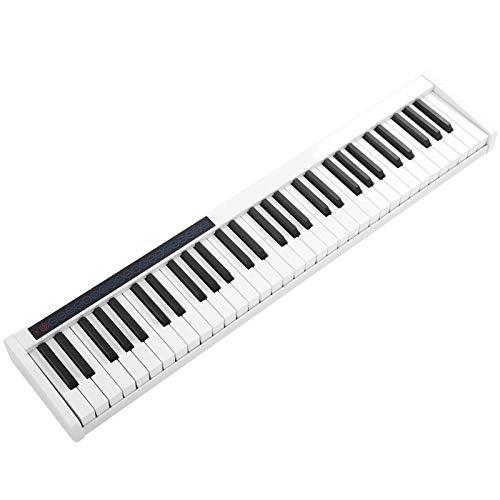 Piano eléctrico, 128 teclas, 61 cintas de teclas, teclado d