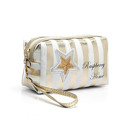 Fashion PU Leather Cosmetic Storage Bags 2019 New Women Laser Make Up Bag PVC Pouch Wash Toiletry Bag Travel Organizer Case 119*9cm