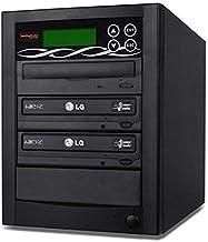 BestDuplicator 2 Target (1 to 2) 24X SATA DVD Duplicator Built-in LG Burner DVD Burner..