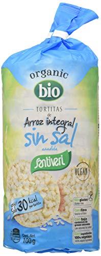 SANTIVERI Tortitas De Arroz Sin Sal 300 g