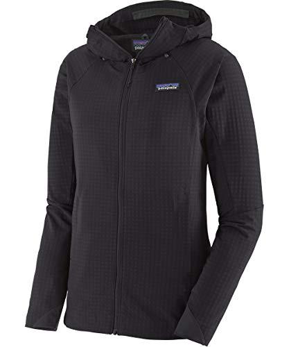 Patagonia Damen W's R1 Techface Hoody Sweatshirt, schwarz, L