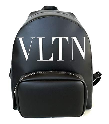 Valentino Herren Rucksack groß Leder VLTN SY0B0875WJW schwarz