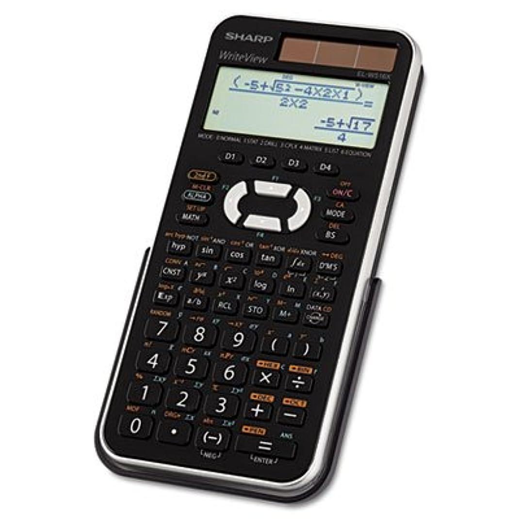 しなやかな男らしさキャプテンel-w516?X BSL Scientific Calculator、16桁LCD 2-Pack