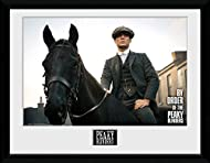 iPosters Framed Peaky Blinders Tommy Horse Print - 44.5 x 34.5 cm (Approx 17.5 x 13.5 Inches)