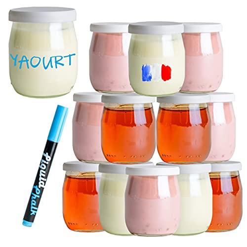 pot de yaourt en verre leclerc