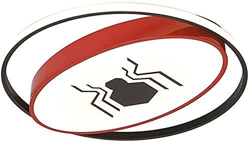 Techo Luz de niños S Plaza Creativa LED Panel Instalación rápida Chandelier Batman Spiderman Transmisión de Alta luz Techo Lámpara de Techo Flush Monte para Aisle Hallway Oficina Sala de Estar Ca