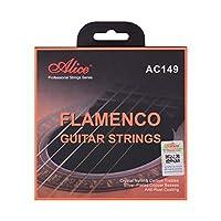 Walory ギター弦アコースティック、アリスAC149-Hクラシックギター弦フラメンコギター用クリスタルナイロン&カーボン(G)ギター弦セットクラシックギター34〜39インチ