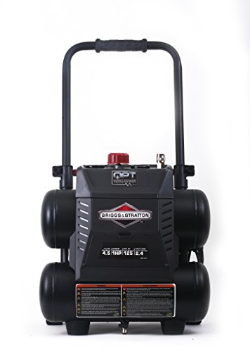 Briggs & Stratton 4.5-Gallon Quiet Power Technology Air...
