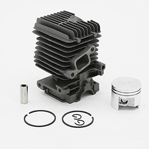 Buena resistencia a la abrasión 37mm Cylinder Piston Assembly Fit para For STIHL MS 192 MS192 C MS192T MS192TC MS192TC-E MS192TC-E S192T-Z Piezas de carga de gas Ajuste perfecto (Size : MS192 37MM)