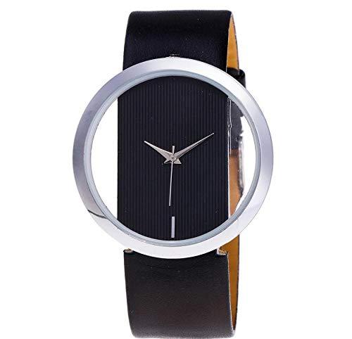 SoonerQuicker Uhr Armbanduhr Quartzuhr Frauen Uhren Mode Damenuhr Beiläufig Armbanduhren Analoge Quarz Lederband Wasserdicht Günstig Geschäft Geschenke Für Frauen, Weihnachts Geschenk 63