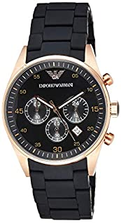 Emporio Armani Orologio Cronografo Quarzo Uomo con Cinturino in Acciaio Inox AR5905 (B004D97EN0) | Amazon price tracker / tracking, Amazon price history charts, Amazon price watches, Amazon price drop alerts