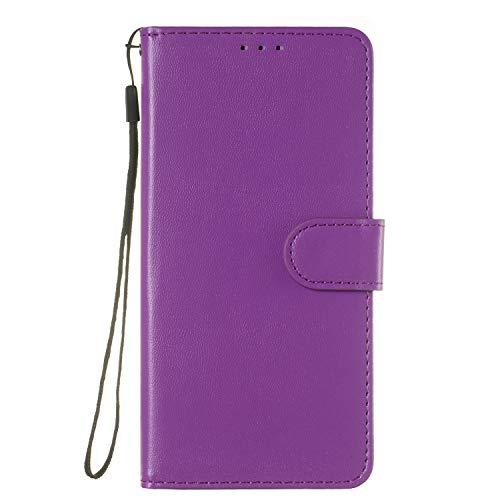 Tosim Galaxy S9+ (S9 Plus) Hülle Leder, Klapphülle mit Kartenfach Brieftasche Lederhülle Stossfest Handyhülle Klappbar Case für Samsung Galaxy S9+ (S9Plus) - TOYHU250234 T4