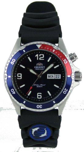 Orient Blue Automatic Dive Watch with Pepsi Bezel CEM65003DW