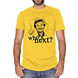T-Shirt Jessica Fletcher Whos Next Angela Lansbury Signora In Giallo Murder She Wrote - Film Choose...