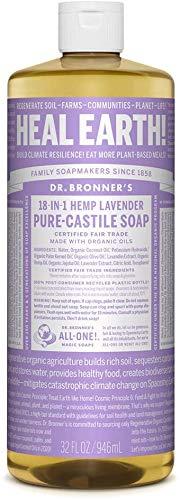 Dr. Bronner's, Pure Castile Soap, Liquid Soap, Lavender Hemp, 32 oz