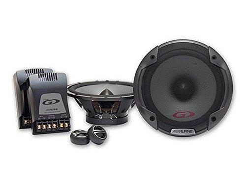 Alpine Auto Lautsprecher Kompo System 300 Watt FIAT 500 (312) ab 6/3007 Einbauort vorne : Türen/hinten : -