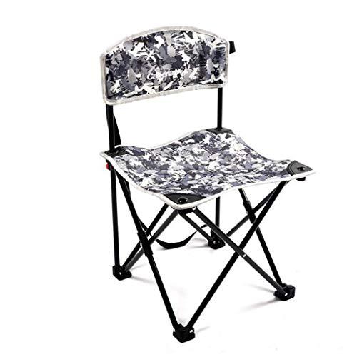 YLCJ Vouwkampeerstoel, Ultralight Draagbare Vrije tijd Viskruk - Design Stoel voor BBQ Camping Picnic Wandelen (tot 120 kg)