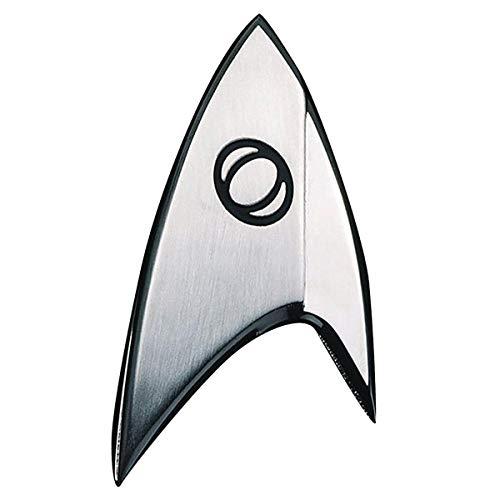 Unbekannt Quantum Mechanix Abysse Corp_BIJQMX002 Star Trek – Abzeichen-Badge: Sciences, Mehrfarbig