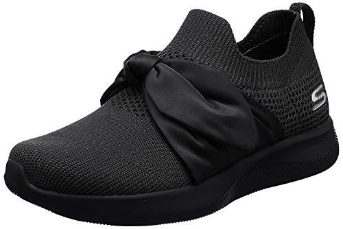 Skechers Bobs Squad 2-Shot Caller, Zapatillas para Mujer
