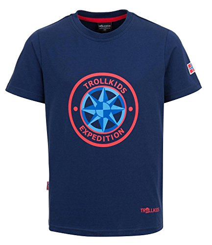 Trollkids Camiseta Windrose para Niños con Protección UV de Secado Rápido