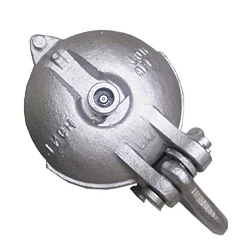 Snatch Block Block Wire Rope Cable Pulley yarding (for 6 Tons - 6