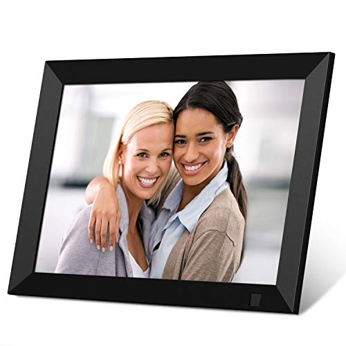 SSA 8 Inch WiFi Digital Photo Frame Full HD IPS Touch Screen, Digital Picture Frame with Motion Sensor, Auto-Rotate, 16GB Storage, Share Photo & Video via App, Email, Facebook, Twitter, Wall Mountable Digital Frames Picture