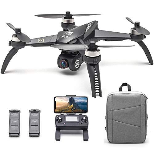 Goolsky MJX Bugs 5W B5W Drone Caméra 4K Drone 1KM de Vol 2019 Version Améliorée 5G WiFi FPV...