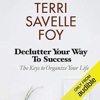 Declutter Your Way to Success audiobook cover art