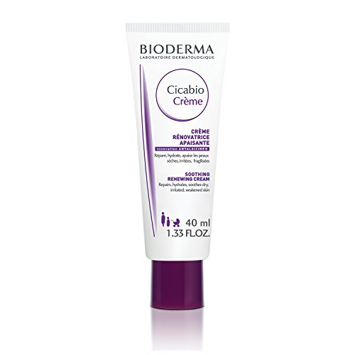 Bioderma - Cicabio - Cream - Soothing and Renewing Cream - Hydrates, Restores and Soothes the Skin - for Dry Skin Irritations - 1.33 fl.oz.