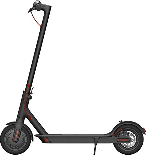 i-Bike Mono Air 8,5' Monopattino Elettrico Pieghevole  350W, 20Km di autonomia, velocità fino a 25km/h, 3 livelli di assistenza, Nero/ Rosso