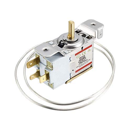 sourcing map Kühlschrank Thermostat Gefrierfach Kühlung Temperaturregler 6A Schalter