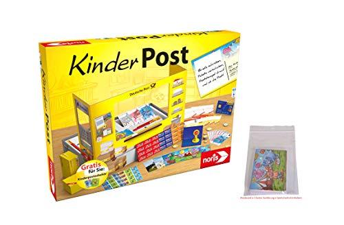 Noris 606011619AMA Kinderpost und Kinderpostzubehör, das beliebte Rollenspiel inkl. Nachfüllset, bereits in der Packung enthalten, für Kinder ab 4 Jahren