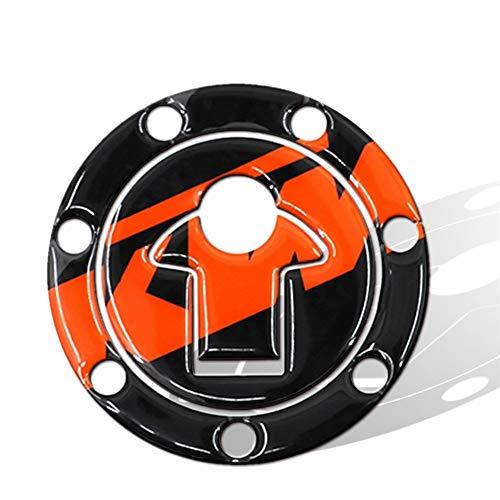 Motorrad-Tank-Aufkleber 3D Super Sticky Motorrad Tankdeckel-Schutz-Auflage for Duke 125 200 390 Rennwagen-Aufkleber-Abziehbilder Motocicleta Zubehör