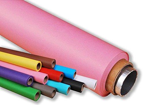 moderntex Hintergrundkarton, 11m lang x 2.72m breit rosa 160g/m² Papierhintergrund
