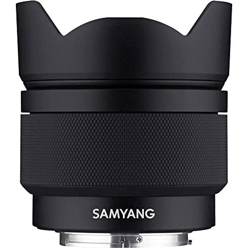 Samyang AF 12mm F2,0 para Sony E, Negro