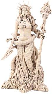 ギリシャの女神 ホワイト 魔法使い 魔女 ヘカテ 像 ヘカテ 占い 神 マジック パワフル 異教徒 魔女像