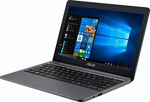 ASUS Portátil de 11,6 pulgadas HD - Procesador Intel Celeron, 4 GB de RAM, 32 GB de memoria flash eMMC, HDMI, Bluetooth, Windows 10