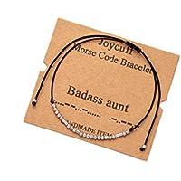 Joycuff Inspirational Morse Code Bracelets