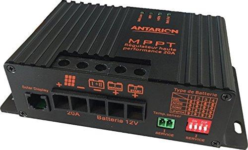 Régulateur MPPT PANNEAU SOLAIRE CAMPING CAR ANTARION 20 AMPERES