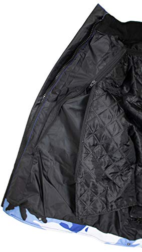 Herren Motorrad Textil Jacke Motorradjacke Winddicht Wasserdicht Belüftet Camo Camouflage (4XL) - 5