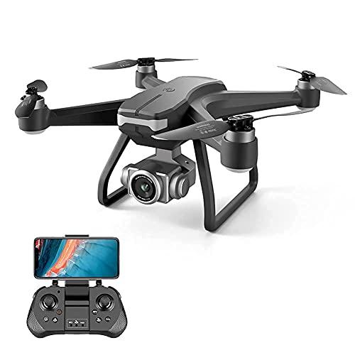 Drone con telecamera Drone Posizionamento del flusso ottico Quadricottero RC con telecamera HD 4K, modalità senza testa di mantenimento dell'altitudine, Droni FPV pieghevoli Wifi Live Video 3D Flip 6A